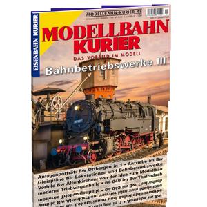 Modellbahn-Kurier 48 – Bahnbetriebswerke 3 – Bestellnr. 1748