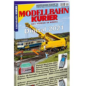 Modellbahn-Kurier 54 Digital 2021 Bestnr. 1756