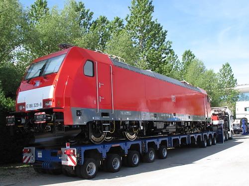 eisenbahn kurier vorbild und modell die lokomotiven auf der transport logistic in m nchen. Black Bedroom Furniture Sets. Home Design Ideas
