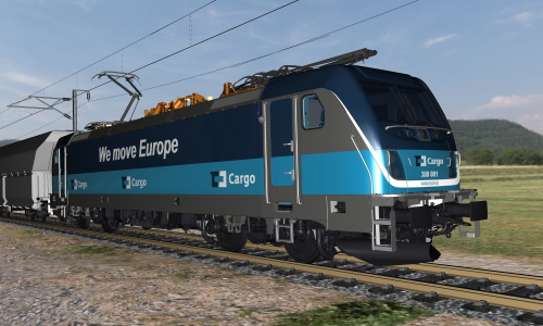 500The BOMBARDIER TRAXX Multi System Locomotive