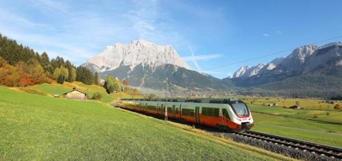 x500The BOMBARDIER TALENT 3 train in Tyrol