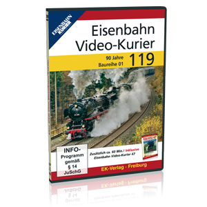eisenbahn kurier vorbild und modell eisenbahn video kurier 119. Black Bedroom Furniture Sets. Home Design Ideas