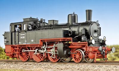 Die Baureihe 74.0-3 (pr. T 11) in H0 von Brawa ist nun auch in Epoche-III-Ausführung der DR erhältlich; Foto: jsk