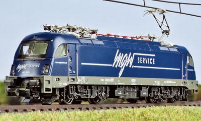Eine weitere Variante der ES 64 U4 von Hobbytrain/Lemke in N|Foto: RZ
