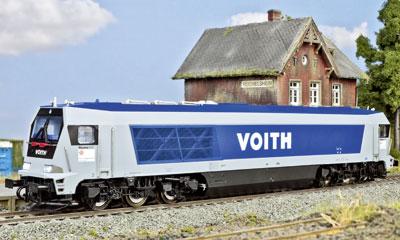 Saechsische Waggonfabrik: H0-Modell der Voith Maxima; Foto: RZ