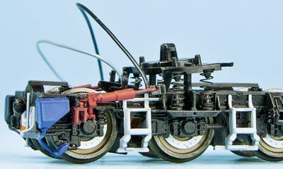 Seitenansicht der schweren Drehgestell-Variante der Voith Maxima; Foto: Werksfoto