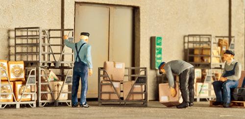 Boxpaletten vom AW Lingen; Foto: Marc Heckmann