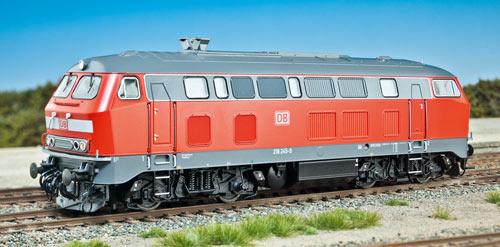 BR 218 von Roco; Aufnahme: jsk