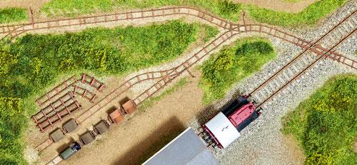 Feldbahn von Auhagen; Foto: Roland Scheller