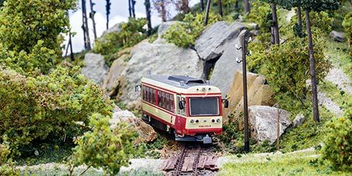 Waldviertelbahn; Foto: Juergen Wisckow